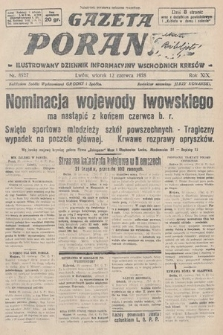Gazeta Poranna : ilustrowany dziennik informacyjny wschodnich kresów. 1928, nr8527