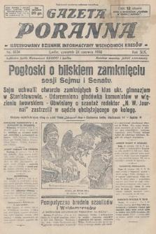 Gazeta Poranna : ilustrowany dziennik informacyjny wschodnich kresów. 1928, nr8536