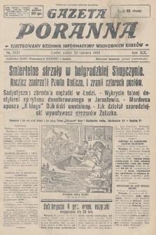 Gazeta Poranna : ilustrowany dziennik informacyjny wschodnich kresów. 1928, nr8537