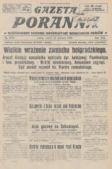 Gazeta Poranna : ilustrowany dziennik informacyjny wschodnich kresów. 1928, nr8538