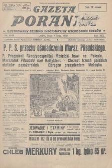 Gazeta Poranna : ilustrowany dziennik informacyjny wschodnich kresów. 1928, nr8549
