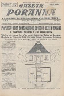 Gazeta Poranna : ilustrowany dziennik informacyjny wschodnich kresów. 1928, nr8556