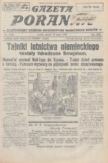 Gazeta Poranna : ilustrowany dziennik informacyjny wschodnich kresów. 1928, nr8558