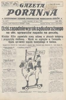 Gazeta Poranna : ilustrowany dziennik informacyjny wschodnich kresów. 1928, nr8571