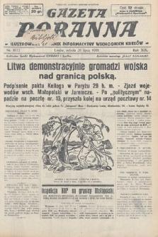 Gazeta Poranna : ilustrowany dziennik informacyjny wschodnich kresów. 1928, nr8573