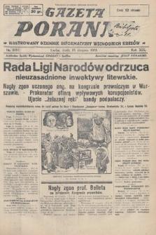 Gazeta Poranna : ilustrowany dziennik informacyjny wschodnich kresów. 1928, nr8591