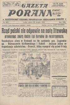 Gazeta Poranna : ilustrowany dziennik informacyjny wschodnich kresów. 1928, nr8601