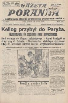 Gazeta Poranna : ilustrowany dziennik informacyjny wschodnich kresów. 1928, nr8602