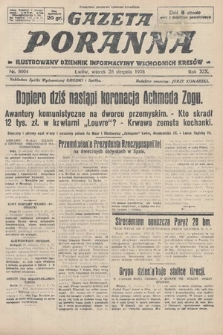 Gazeta Poranna : ilustrowany dziennik informacyjny wschodnich kresów. 1928, nr8604