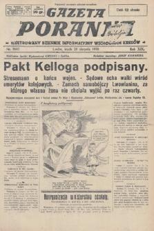 Gazeta Poranna : ilustrowany dziennik informacyjny wschodnich kresów. 1928, nr8605