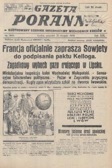 Gazeta Poranna : ilustrowany dziennik informacyjny wschodnich kresów. 1928, nr8606