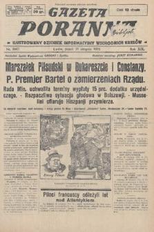 Gazeta Poranna : ilustrowany dziennik informacyjny wschodnich kresów. 1928, nr8607
