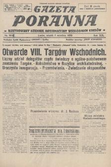 Gazeta Poranna : ilustrowany dziennik informacyjny wschodnich kresów. 1928, nr8611