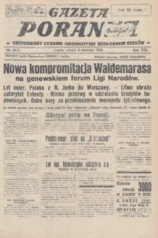 Gazeta Poranna : ilustrowany dziennik informacyjny wschodnich kresów. 1928, nr8615