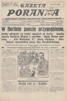Gazeta Poranna : ilustrowany dziennik informacyjny wschodnich kresów. 1928, nr8620