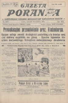 Gazeta Poranna : ilustrowany dziennik informacyjny wschodnich kresów. 1928, nr8627