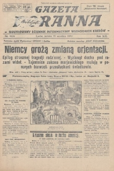 Gazeta Poranna : ilustrowany dziennik informacyjny wschodnich kresów. 1928, nr8636