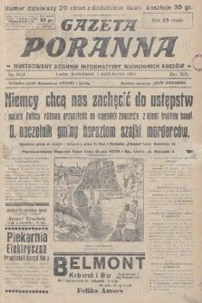 Gazeta Poranna : ilustrowany dziennik informacyjny wschodnich kresów. 1928, nr8638