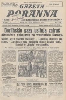 Gazeta Poranna : ilustrowany dziennik informacyjny wschodnich kresów. 1928, nr8644