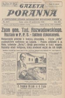 Gazeta Poranna : ilustrowany dziennik informacyjny wschodnich kresów. 1928, nr8657