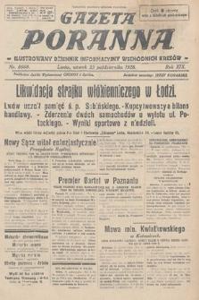 Gazeta Poranna : ilustrowany dziennik informacyjny wschodnich kresów. 1928, nr8660