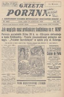 Gazeta Poranna : ilustrowany dziennik informacyjny wschodnich kresów. 1928, nr8663