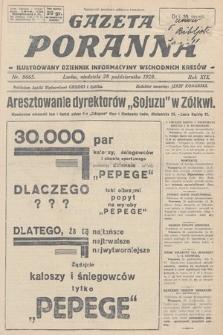 Gazeta Poranna : ilustrowany dziennik informacyjny wschodnich kresów. 1928, nr8665
