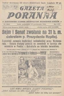 Gazeta Poranna : ilustrowany dziennik informacyjny wschodnich kresów. 1928, nr8666