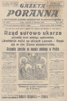Gazeta Poranna : ilustrowany dziennik informacyjny wschodnich kresów. 1928, nr8672