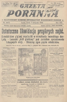 Gazeta Poranna : ilustrowany dziennik informacyjny wschodnich kresów. 1928, nr8675