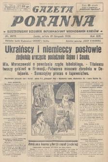 Gazeta Poranna : ilustrowany dziennik informacyjny wschodnich kresów. 1928, nr8678