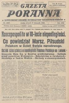 Gazeta Poranna : ilustrowany dziennik informacyjny wschodnich kresów. 1928, nr8681
