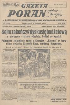 Gazeta Poranna : ilustrowany dziennik informacyjny wschodnich kresów. 1928, nr8684