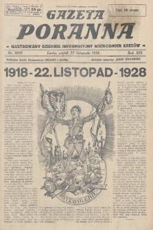 Gazeta Poranna : ilustrowany dziennik informacyjny wschodnich kresów. 1928, nr8691