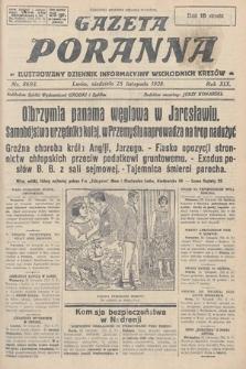 Gazeta Poranna : ilustrowany dziennik informacyjny wschodnich kresów. 1928, nr8693