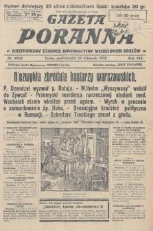 Gazeta Poranna : ilustrowany dziennik informacyjny wschodnich kresów. 1928, nr8694