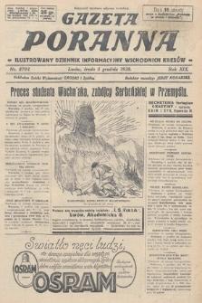 Gazeta Poranna : ilustrowany dziennik informacyjny wschodnich kresów. 1928, nr8703
