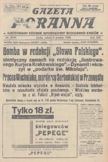 Gazeta Poranna : ilustrowany dziennik informacyjny wschodnich kresów. 1928, nr8706