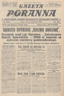 Gazeta Poranna : ilustrowany dziennik informacyjny wschodnich kresów. 1928, nr8709