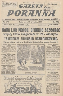 Gazeta Poranna : ilustrowany dziennik informacyjny wschodnich kresów. 1928, nr8711