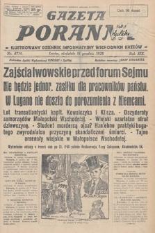 Gazeta Poranna : ilustrowany dziennik informacyjny wschodnich kresów. 1928, nr8714