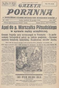 Gazeta Poranna : ilustrowany dziennik informacyjny wschodnich kresów. 1928, nr8721