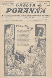 Gazeta Poranna : ilustrowany dziennik informacyjny wschodnich kresów. 1928, nr8723