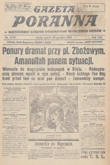 Gazeta Poranna : ilustrowany dziennik informacyjny wschodnich kresów. 1928, nr8724