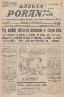 Gazeta Poranna : ilustrowany dziennik informacyjny wschodnich kresów. 1928, nr8725