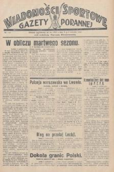 Wiadomości Sportowe Gazety Porannej. 1928, nr115