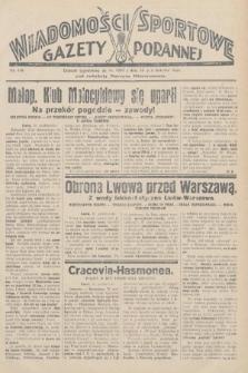 Wiadomości Sportowe Gazety Porannej. 1928, nr116