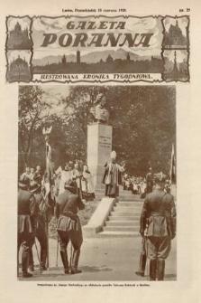 Gazeta Poranna : ilustrowana kronika tygodniowa. 1928, nr25
