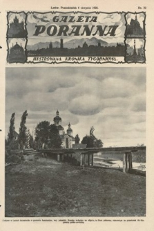 Gazeta Poranna : ilustrowana kronika tygodniowa. 1928, nr32