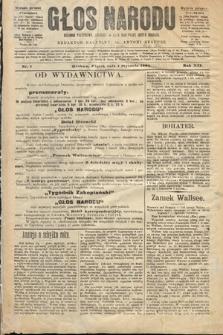 Głos Narodu : dziennik polityczny, założony w roku 1893 przez Józefa Rogosza (wydanie poranne). 1904, nr1
